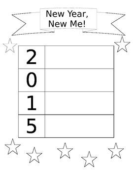 New Year, New Me! Goal Setting!