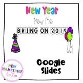 New Year New Me Google Slides