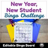 New Year, New Student Bingo Challenge
