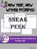 New Year, New Writing: 5 Goal Setting Writing Prompts w/ W