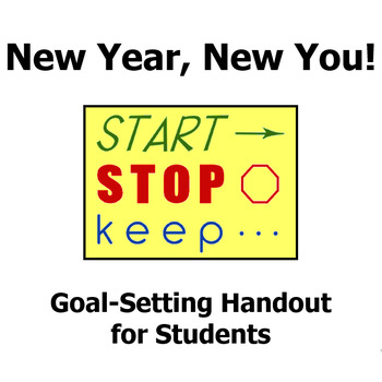 New Year, New You! Goal Setting Handout for Students