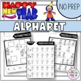 New Years 2020 No Prep Alphabet