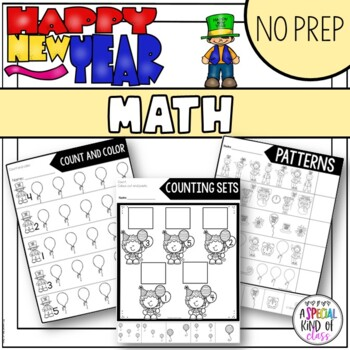 New Years No Prep Math
