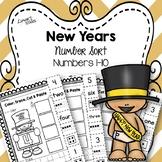 New Years Numbers Sort