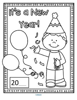 Ambitious image regarding new year's worksheets printable