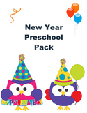 New Year Pack for Preschoolers