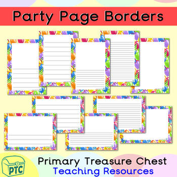 new year party celebration themed page borderwriting frames
