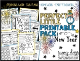 New Year {Perfect Little Printable Pack}