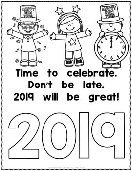 New Year Poem Freebie for 2018