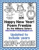 New Year Poem Freebie