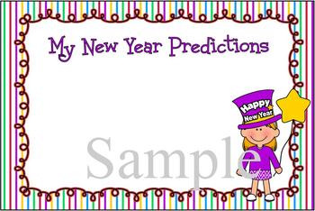 """New Year Predictions"" Cards"