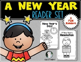 New Year's Reader Bundle for First Grade and Kindergarten