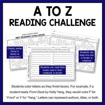 New Year Reading Challenge -- Let Your Students Choose!
