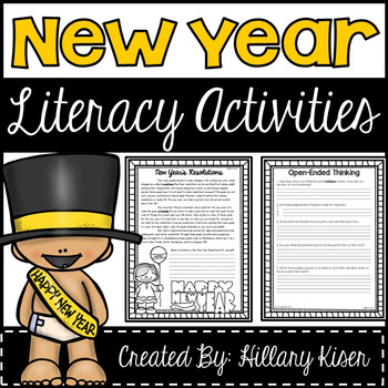 New Year Reading Comprehension Bundle (FREE)