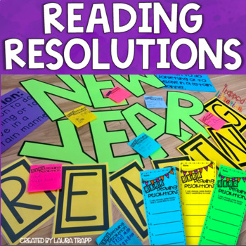 New Year Reading Resolutions Bulletin Board Kit