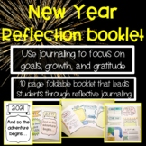New Year Reflection Journal High School and Middle School