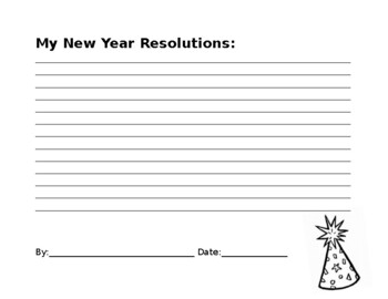 New Year Resoluations