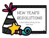 New Year Resolution Activity