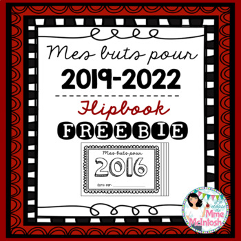 New Year Resolution Booklet FREEBIE - Mes buts pour 2016-2018
