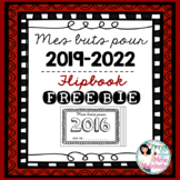 New Year Resolution Booklet FREEBIE - Mes buts pour 2019-2022