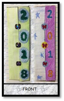 New Year Resolution Bookmark