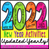 New Year Activities 2020 Resolution Goals Creative Growth Mindset