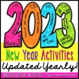 New Year Activities 2021 Resolution Goals Growth Mindset Digital