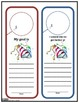 New Year Resolution Printables