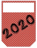 New Year Resolution Student Pennant Banner