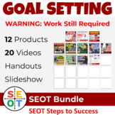 Goal Setting Bundle ⭐ EASY ADVISORY activities, slideshow,