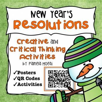 New Year Resolutions Creative and Critical Thinking Activities