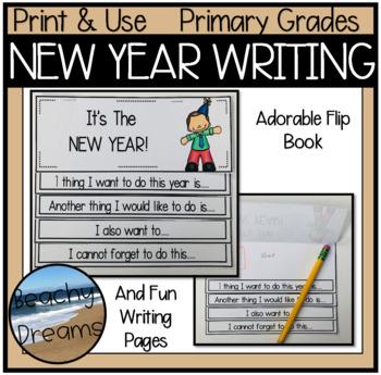 New Year Resolution No Prep Activities