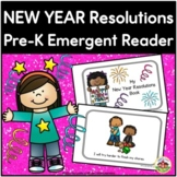 New Year Resolutions Emergent Reader