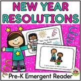 New Year Resolutions Emergent Reader