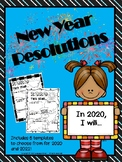 New Year Resolutions 2018!