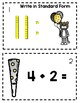 New Year SCOOT - 1st Grade Math (Printables)