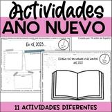 New Year SPANISH activities