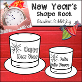 New Year Shape Book (FREE)