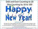 New Year Skip Counting Cut And Glue