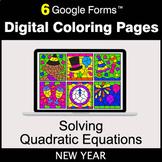 New Year: Solving Quadratic Equations - Google Forms | Dig