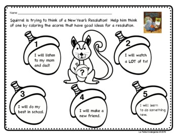 New Year (Squirrel's New Year's Resolution)