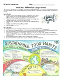 New Year Sustainable Feast & Upcycle Gift Project, AP Environmental Science