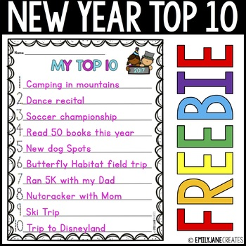 New Year TOP 10