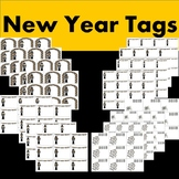 New Year Tags/Homework Passes