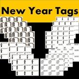 New Year Tags/Homework Passes