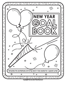 New Year Take Home Goals and Maze Pack