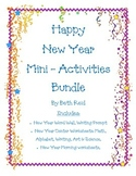 New Year Themed Mini-Activities Bundle