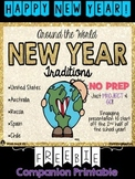 New Year Traditions FREEBIE printable