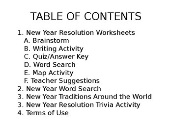New Year Traditions and Activities