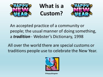 New Year Around the World PowerPoint